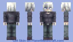 Shirou Ogami (casual) Minecraft Skin
