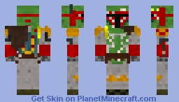 Boba Fett Legends Minecraft Skin