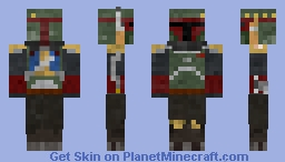 Boba Fett (The Mandalorian/Tragedy) Minecraft Skin