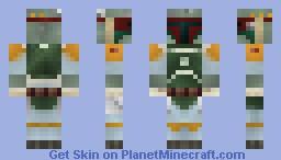 Boba Fett Minecraft Skin