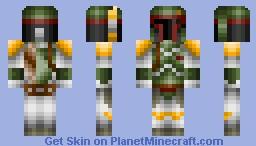 Boba Fett (Final Version) Now 100% Complete Minecraft Skin
