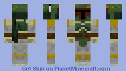 Bobafett Minecraft Skin