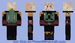 Mandalorian Boba Repaint No Helmet Minecraft Skin