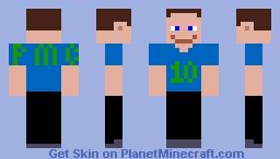 Bob PMC 10 Year anniversary Minecraft Skin