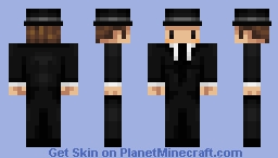 Notch if his skin was based on himself Minecraft Skin