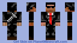 Bodyguard Minecraft Skin