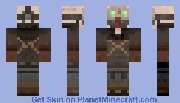 Borderlands Bandit - Steve Minecraft Skin