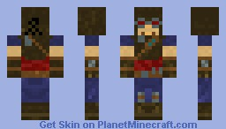 Borderlands - Mordecai Minecraft Skin