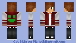 The man! Minecraft Skin