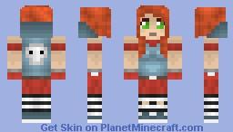 Borderlands 2: Mechromancer Minecraft Skin