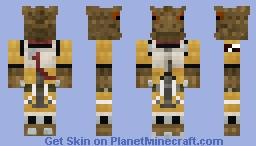 Bossk | Bounty Hunter | 1.8+ Minecraft Skin