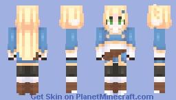 Breath Of The Wild || Princess Zelda Minecraft Skin