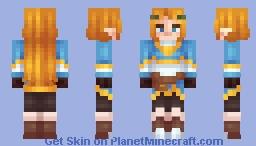 BOTW Zelda Minecraft Skin