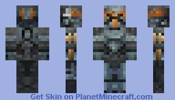 The Old Republic Bounty Hunter Minecraft Skin