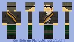 Deadlands Bounty Hunter Minecraft Skin