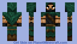 Bowman (Updated colors) Minecraft