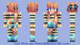 Bows n' Stripes Minecraft Skin