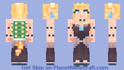 Bowsette Minecraft Skin
