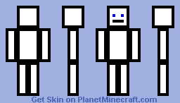 Box Man Minecraft Skin