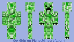 Minecraft Creeper Skin Download Creeper Minecraft Skin Download - Skins fur minecraft creeper