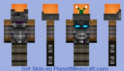 Xplodable Snail Minecraft Skin