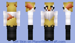 Braixen Minecraft Skin