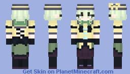 Koishi Komeiji (古明地こいし) Brambly Rose Garden Minecraft Skin