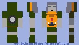 Autobot Brawn Minecraft Skin