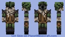Brigand Raider ( Darkest Dungeon ) Minecraft Skin