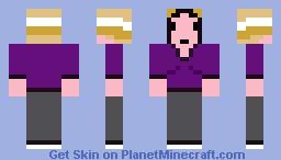 Britta Perry -- Community S03E20 Minecraft Skin