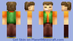 Brock (Pokemon) Minecraft Skin