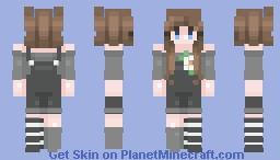 Was I made from a broken mold? Minecraft Skin