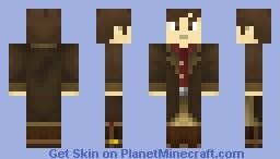 Firefly - Malcolm Reynolds (Browncoat) Minecraft Skin