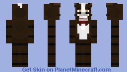 Brown Horse Animatronic (FNaF OC) - by harperhusky Minecraft Skin