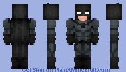 Batman | Bruce Wayne Minecraft Skin