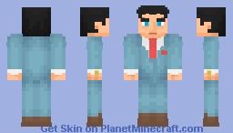 Bruce Wayne | Blue Suit Minecraft Skin