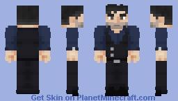 Bruce Wayne | Justice League Minecraft Skin