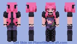 + 𝕾𝖆𝖙𝖚𝖗𝖓 + Revenge + popreel! Minecraft Skin