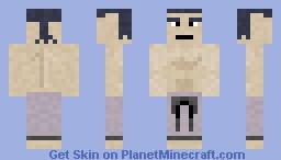Bruno (Poke'Mon Elite 4) Minecraft Skin