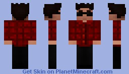 (V1/5) Bruno Mars - The Lazy Song Style (3D Hair) Minecraft Skin