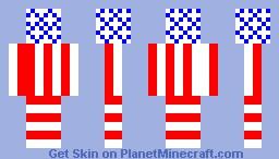 USA Minecraft Skin