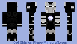 Ironman fix Minecraft Skin