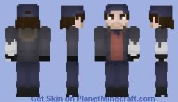 Bucky Barnes (Undercover) Minecraft Skin