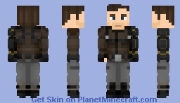 Bucky Barnes, The Winter Soldier (Madripoor) | MCU Minecraft Skin