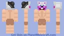 Buff Helpy Minecraft Skin
