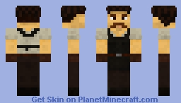 Medieval Citizen 1 Minecraft Skin