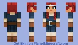 Valorie (from Minecraft Dungeons) Minecraft Skin