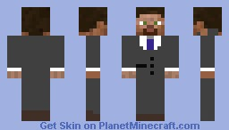 The Business Man Minecraft Skin