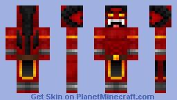 Battle Chasers - Bulgrim Minecraft Skin