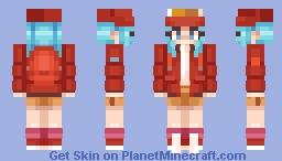 BULMA / dragon ball Minecraft Skin